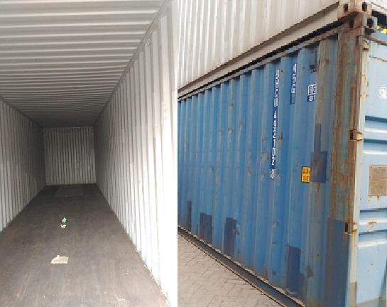 Container 40 HC Feet Bekas Cikupa Serang