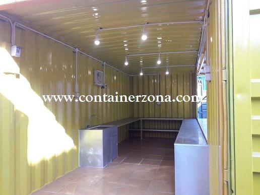 Tempat Berjualan Dari Container Bekas