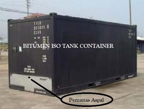 Container Pemanas Untuk Aspal